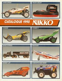 Catalogue Nikko 1990