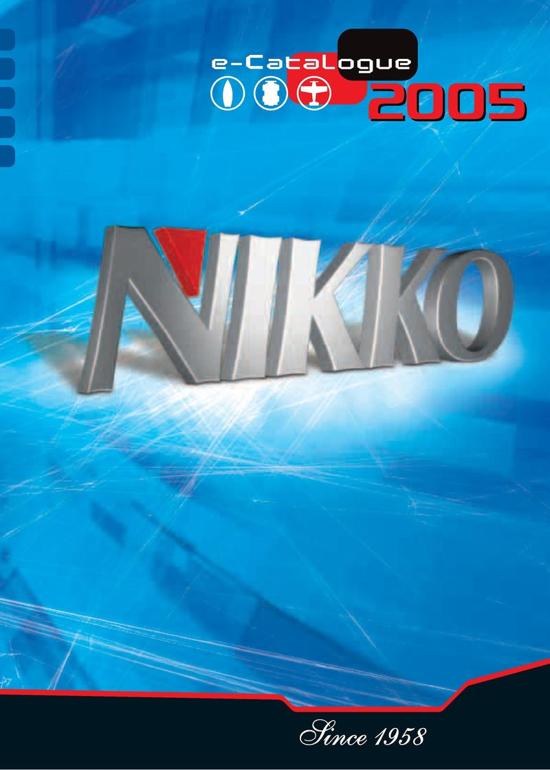 Catalogue Nikko 1990 page 1