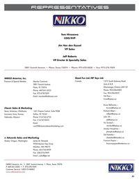 Page 5 Catalogue Nikko 2007