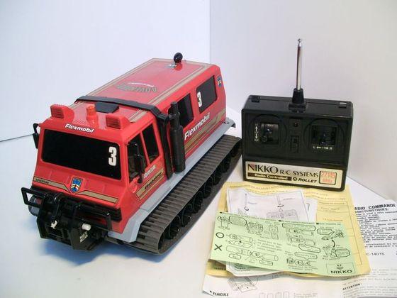 voiture tv commande nikko 1990