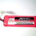 Batterie 7,2V 1600mAh NiCd au format modélisme